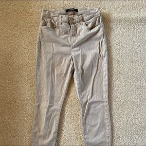 J brand khaki skinny pants